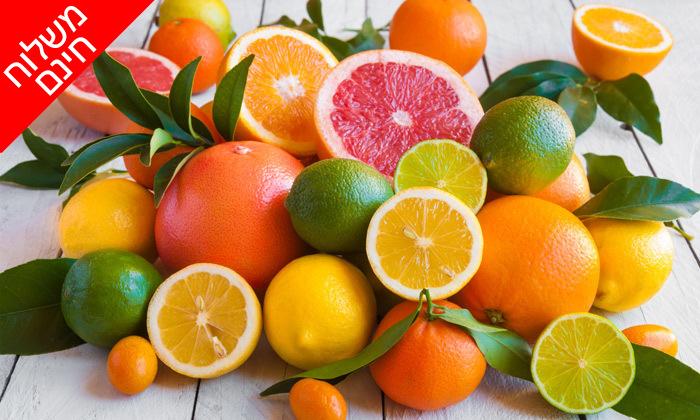 3 מהפרדס אליכם הביתה: מארז פירות הדר מ'קטיף של בוקר' כולל משלוח חינם ליישובי המרכז