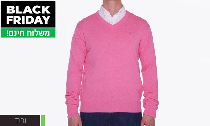 10 סוודר או קרדיגן מכופתר לגברים גאנט GANT - משלוח חינם