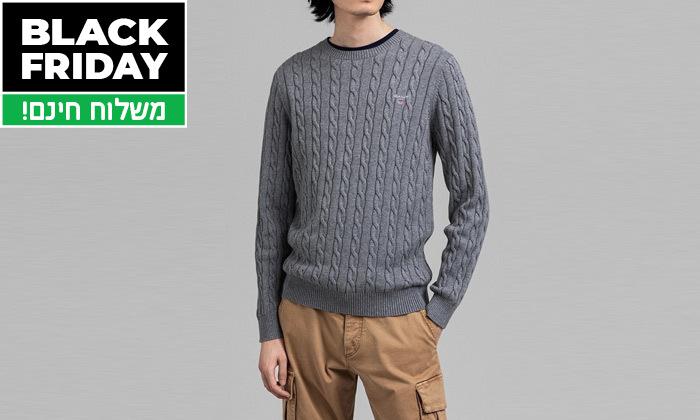 13 סוודר או קרדיגן מכופתר לגברים גאנט GANT - משלוח חינם