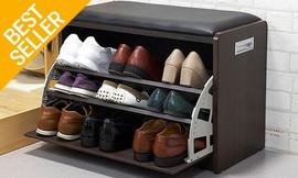 שידת התארגנות עם תא לנעליים