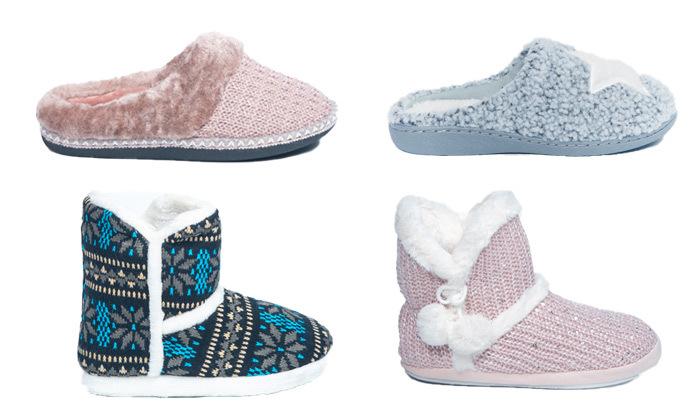 דיל זמן מוגבל:2 זוגות נעלי בית לנשים של המותגים CARA & MIA ו-SUPER CLARKS