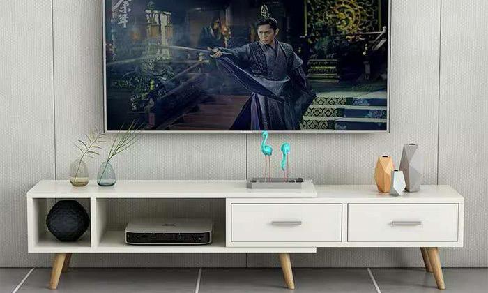 5 מזנון טלוויזיה מתכוונן בהתאמה אישית