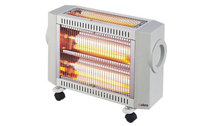 2 תנור חימום אינפרא אדום COBRA2000W