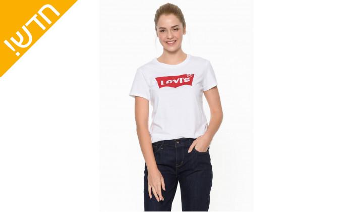 2 חולצתטי שירט ליוויס לנשים Levi's