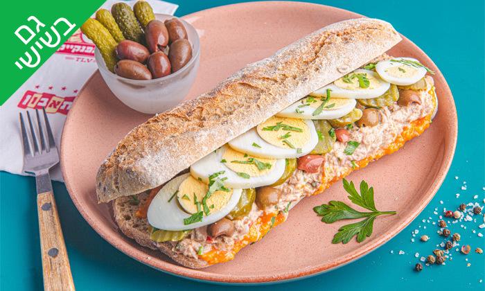 9 ארוחת בוקר זוגית בבית הפנקייק TLV כיכר רבין, גם ב-T.A