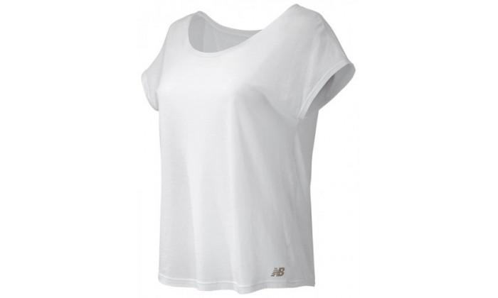 חולצת טי שירטניו באלאנס לנשיםnew balance