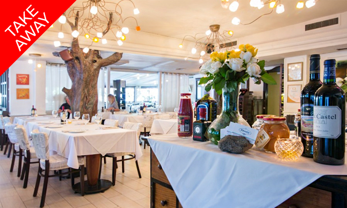 3 ארוחה איטלקית זוגית באיסוף עצמי ממסעדת טאבולה