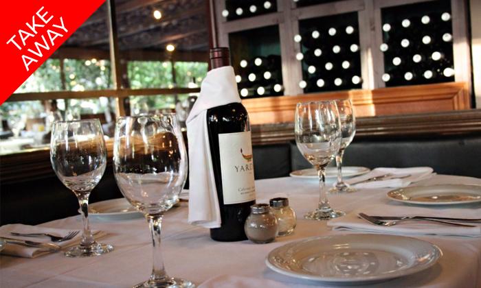 4 ארוחה איטלקית זוגית באיסוף עצמי ממסעדת טאבולה