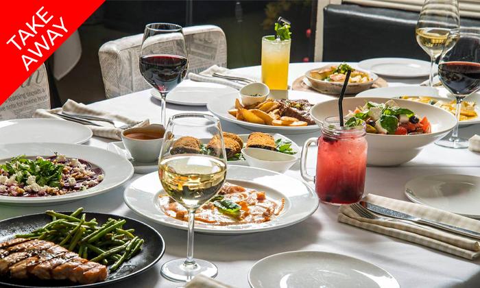 13 ארוחה איטלקית זוגית באיסוף עצמי ממסעדת טאבולה