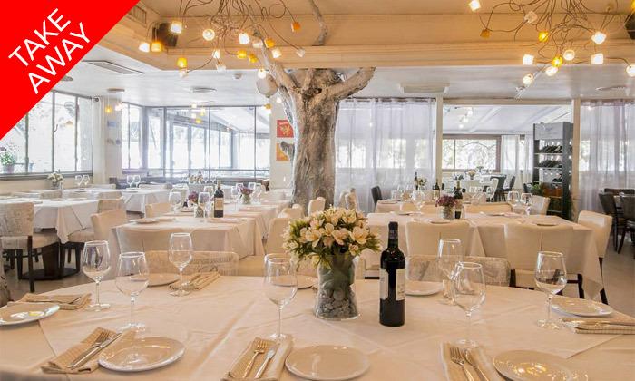 16 ארוחה איטלקית זוגית באיסוף עצמי ממסעדת טאבולה