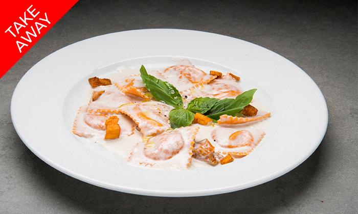 21 ארוחה איטלקית זוגית באיסוף עצמי ממסעדת טאבולה