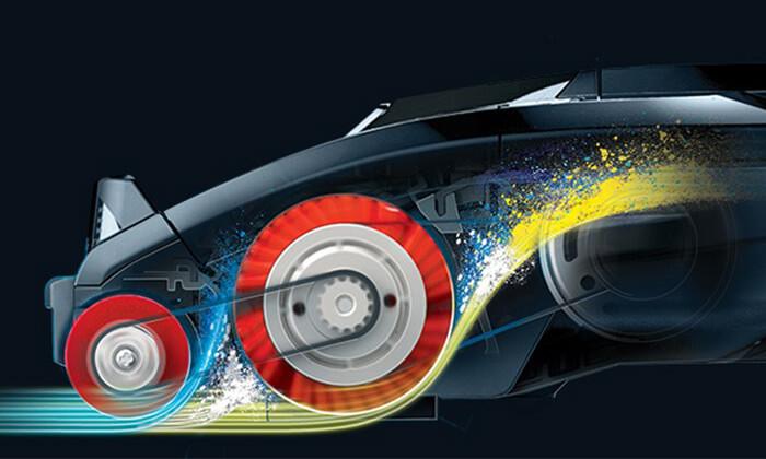 7 שואב אבק ציקלון חשמלי שארק SHARK מתצוגה