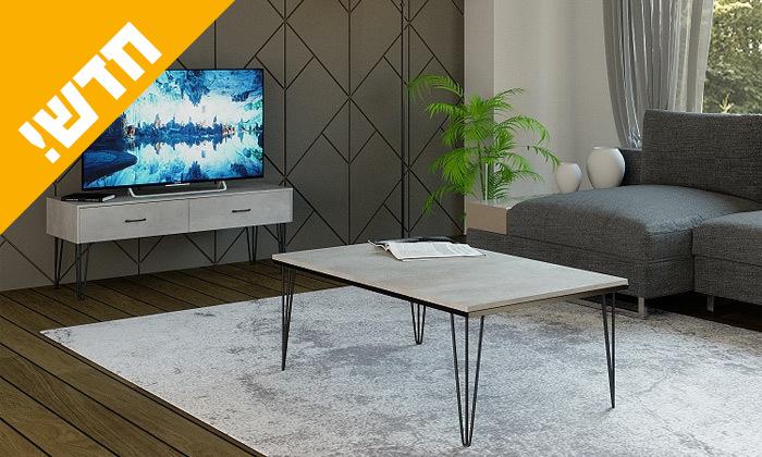 4 סט מזנון ושולחן לסלון House Design דגם מיקונוס