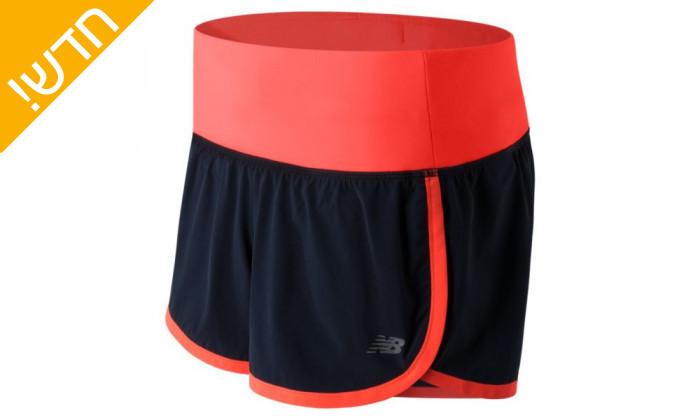 2 מכנס שורטס אימוניםניו באלאנס לנשים new balance