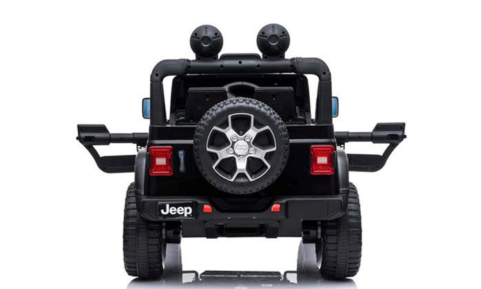 3 ג'יפ ממונע לילדים Jeep Wrangler 24V עם מערכת מולטימדיה