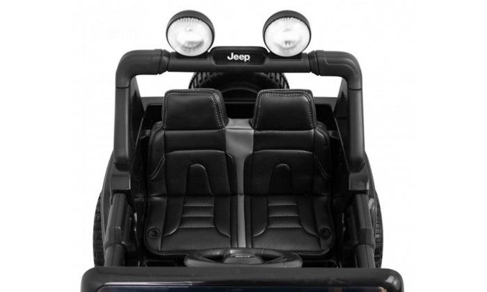 4 ג'יפ ממונע לילדים Jeep Wrangler 24V עם מערכת מולטימדיה