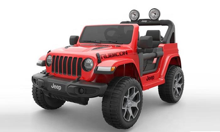 6 ג'יפ ממונע לילדים Jeep Wrangler 24V עם מערכת מולטימדיה
