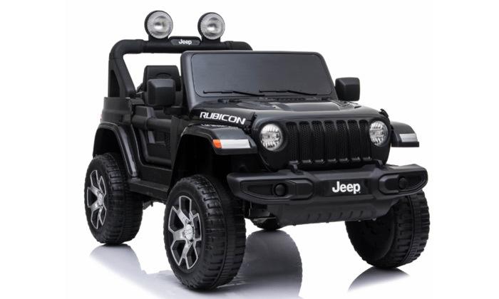 2 ג'יפ ממונע לילדים Jeep Wrangler 24V עם מערכת מולטימדיה
