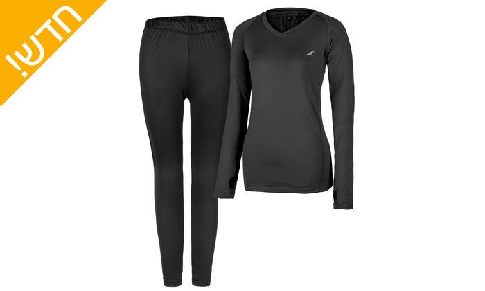 3 סט חולצה ומכנסים תרמיים בטכנולוגיית COOL DRY