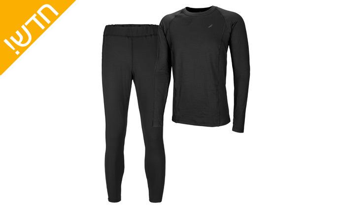 6 סט חולצה ומכנסים תרמיים בטכנולוגיית COOL DRY