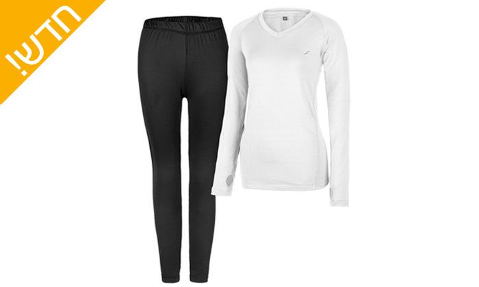 5 סט חולצה ומכנסים תרמיים בטכנולוגיית COOL DRY