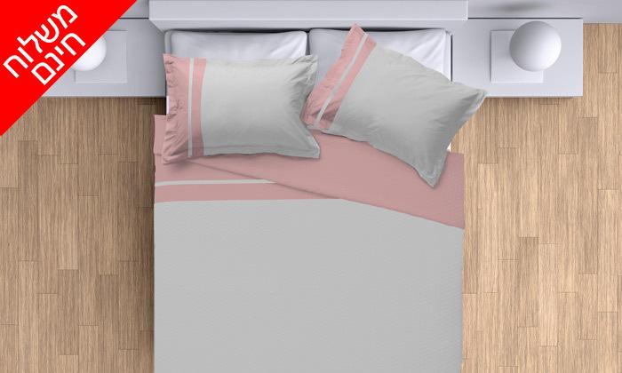 9 סט מצעים 100% כותנה פרקל למיטת יחיד או מיטה זוגית - משלוח חינם