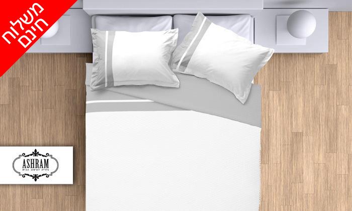 2 סט מצעים 100% כותנה פרקל למיטת יחיד או מיטה זוגית - משלוח חינם