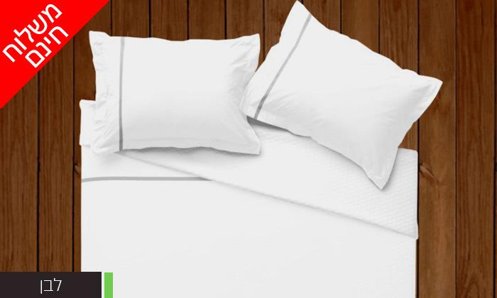8 סט מצעים 100% כותנה פרקל למיטת יחיד או מיטה זוגית - משלוח חינם