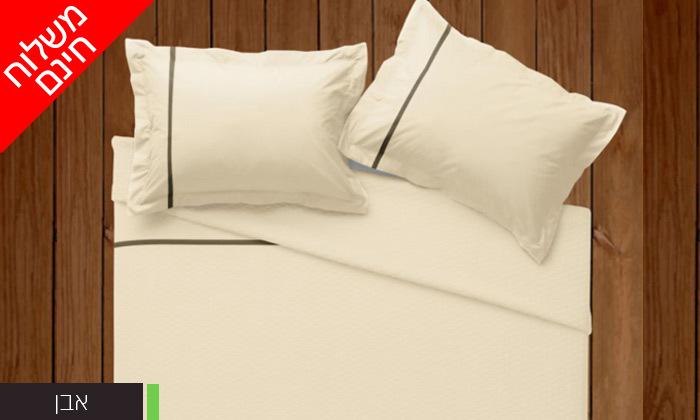7 סט מצעים 100% כותנה פרקל למיטת יחיד או מיטה זוגית - משלוח חינם