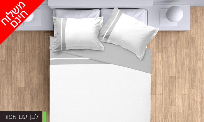 3 סט מצעים 100% כותנה פרקל למיטת יחיד או מיטה זוגית - משלוח חינם