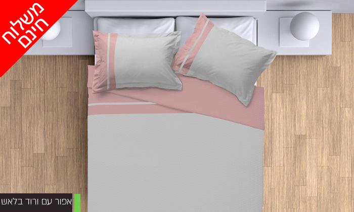 5 סט מצעים 100% כותנה פרקל למיטת יחיד או מיטה זוגית - משלוח חינם