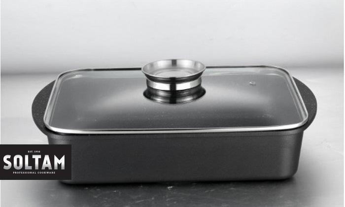 סיר רוסטרSoltam עם כפתור ארומה להוספת נוזלים הדרגתית