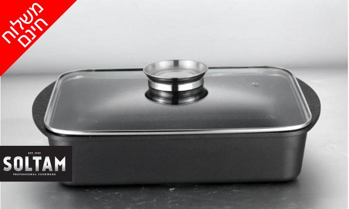2 SOLTAM סולתם: סיר רוסטר 4.6 ליטרעם כפתור ארומה - משלוח חינם
