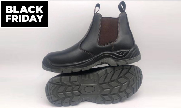 2 נעלי עבודה לגברים ולנוער
