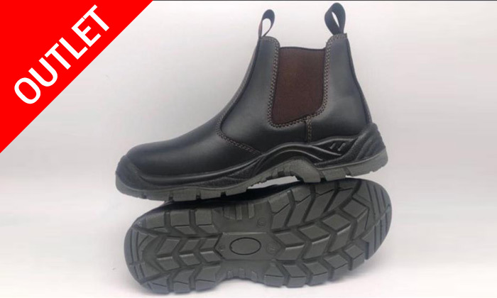 2 נעלי עבודה לגברים ולנוער עם אפשרות להגנת ברזל