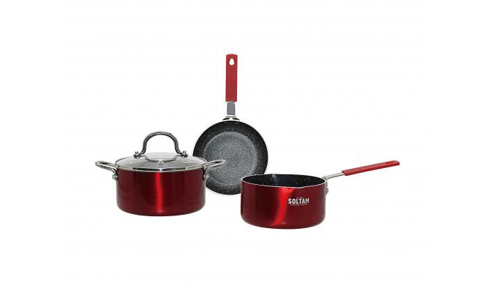4 מארז כלי בישול 4 חלקים SOLTAM