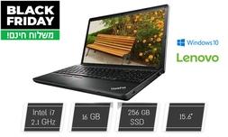 מחשב נייד Lenovo ''15.6