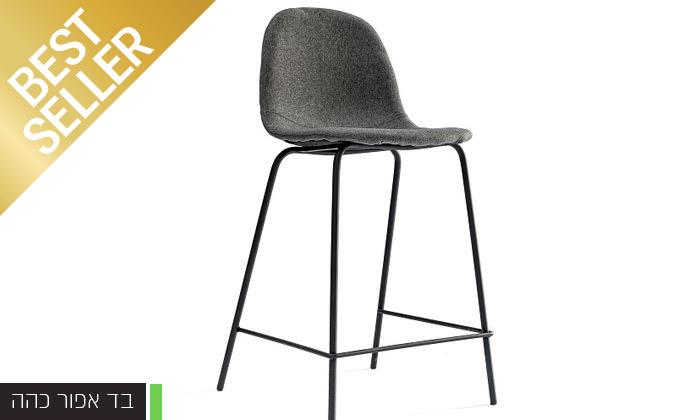 10 כיסא בר מרופד במבחר צבעים