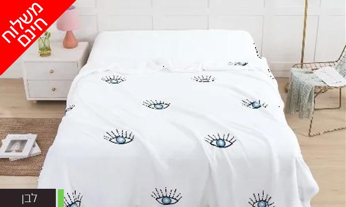 3 שמיכת חורף דו צדדית במבחר צבעים למיטת יחיד או זוגית- משלוח חינם