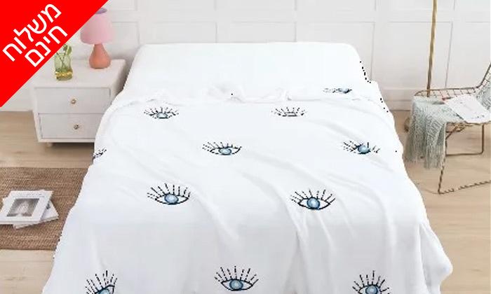 8 שמיכת חורף דו צדדית במבחר צבעים למיטת יחיד או זוגית- משלוח חינם