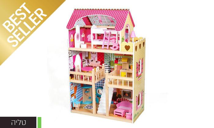 4 בית בובות לילדים במבחר דגמים