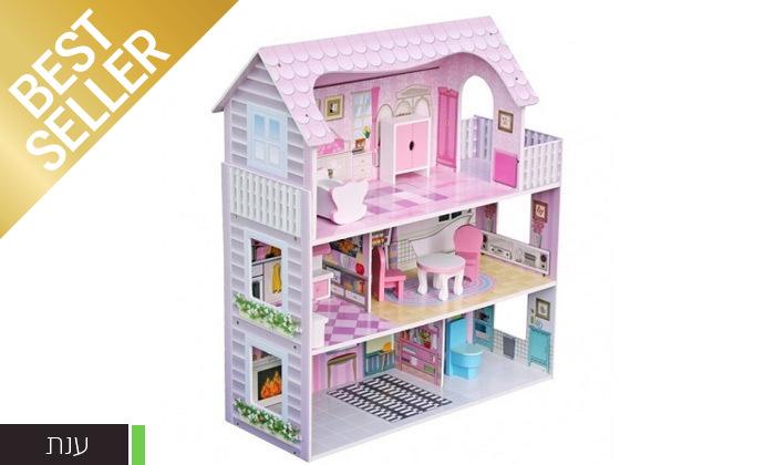3 בית בובות לילדים במבחר דגמים