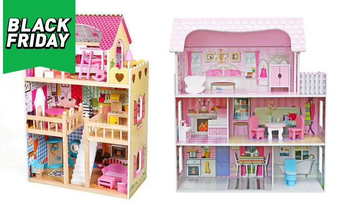 2 בית בובות לילדים במבחר דגמים