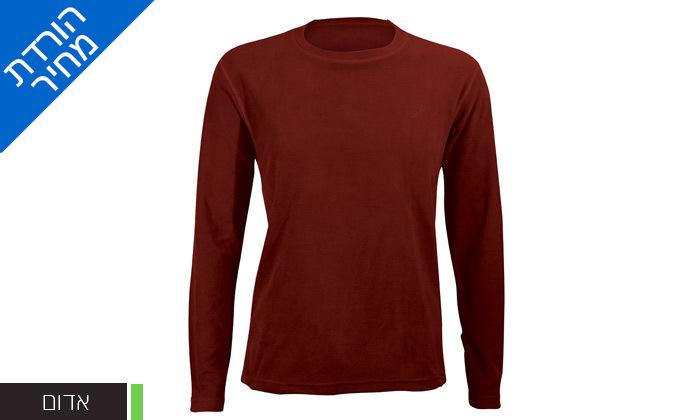 3 חולצת גברים תרמית OUTDOOR דגםLUKE Microfleece