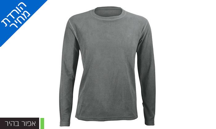 4 חולצת גברים תרמית OUTDOOR דגםLUKE Microfleece