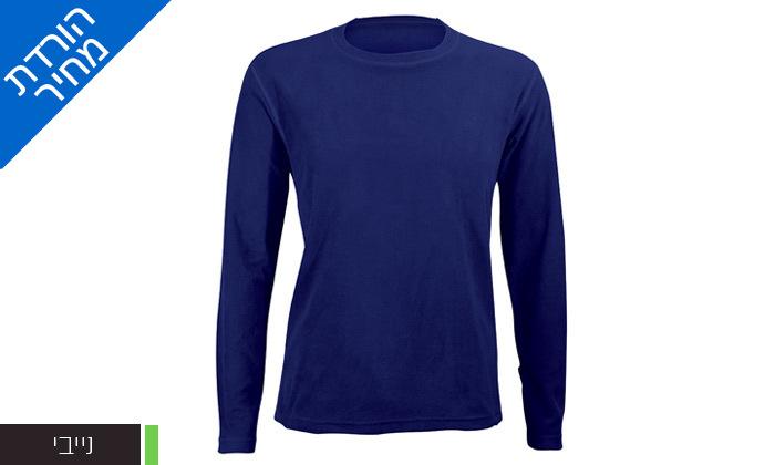 5 חולצת גברים תרמית OUTDOOR דגםLUKE Microfleece