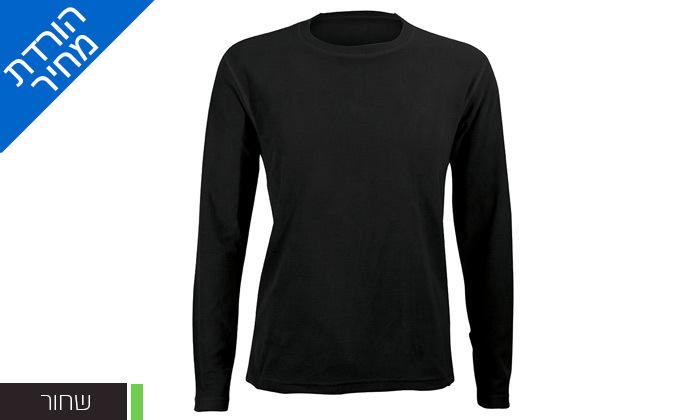 6 חולצת גברים תרמית OUTDOOR דגםLUKE Microfleece