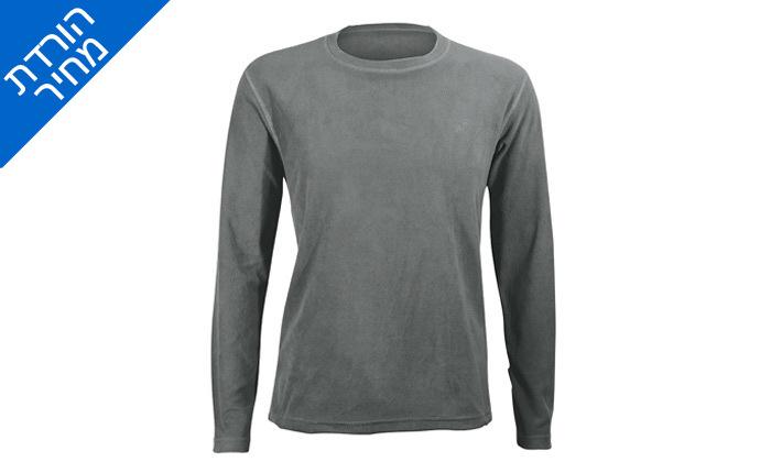 7 חולצת גברים תרמית OUTDOOR דגםLUKE Microfleece
