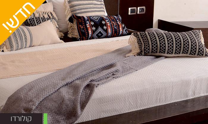 3 כיסוי מיטה 100% כותנה ASHRAM המשמש גם כשמיכה במגוון גדלים, דגמים וצבעים לבחירה