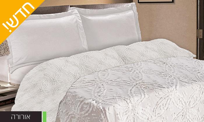 4 כיסוי מיטה 100% כותנה ASHRAM המשמש גם כשמיכה במגוון גדלים, דגמים וצבעים לבחירה